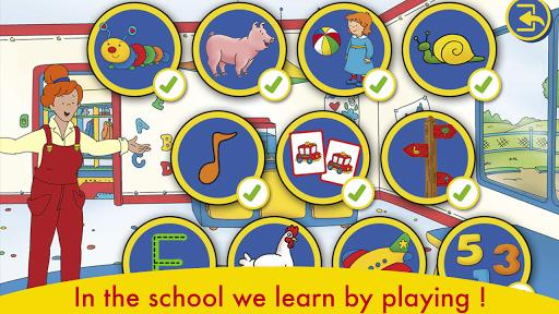 A Day with Caillou - عکس بازی موبایلی اندروید