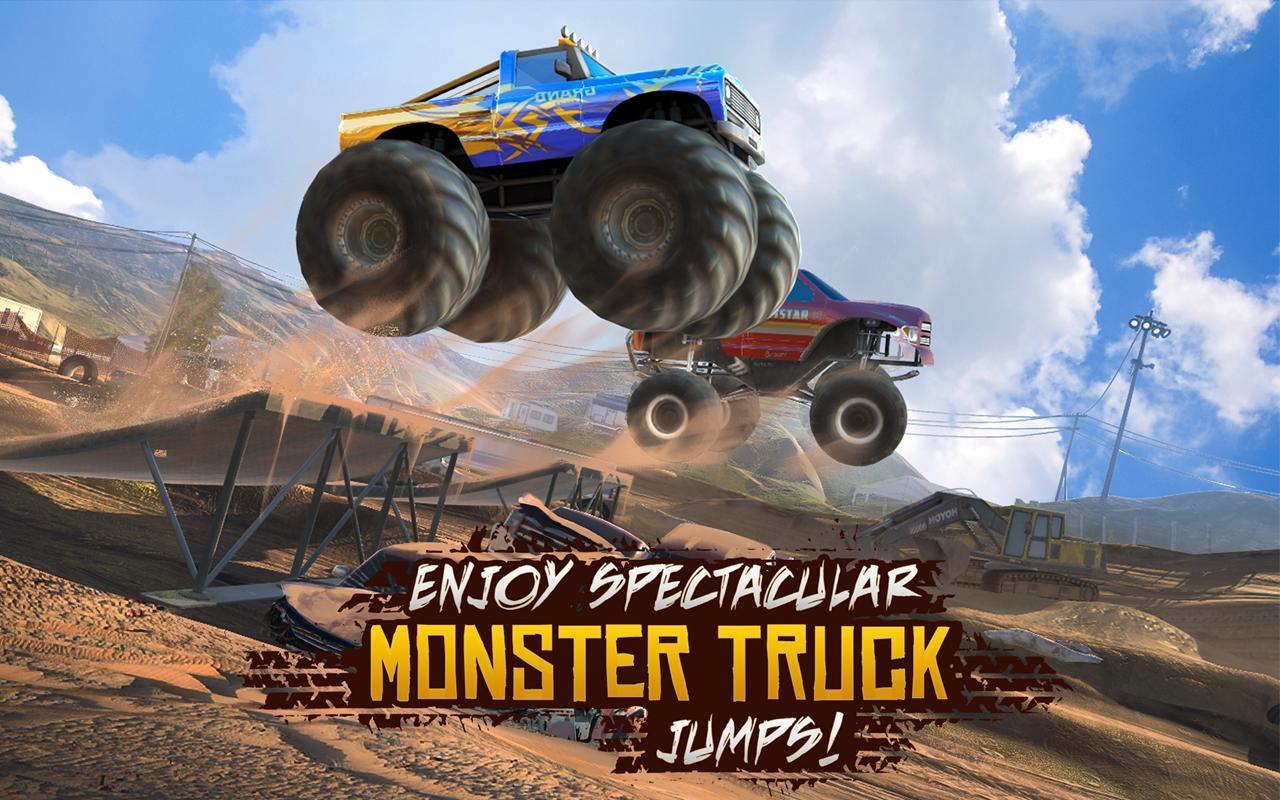 Racing Xtreme 2 – ماشینهای غول پیکر - عکس بازی موبایلی اندروید