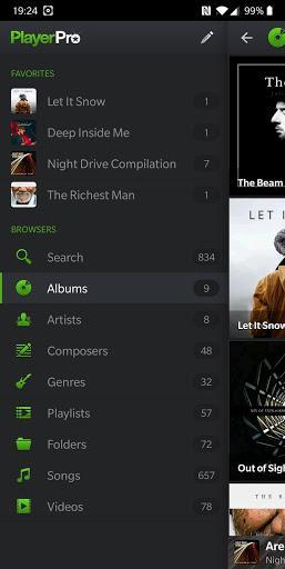 PlayerPro Music Player (Free) - عکس برنامه موبایلی اندروید