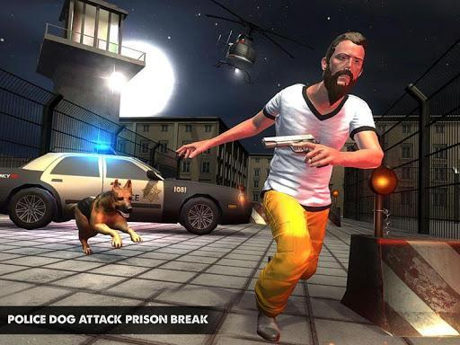 Police Dog Attack Prison Break - عکس بازی موبایلی اندروید