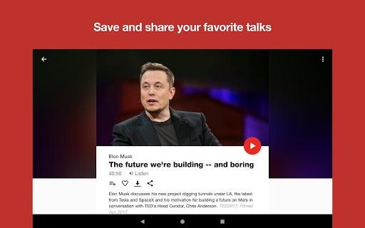 TED - عکس برنامه موبایلی اندروید
