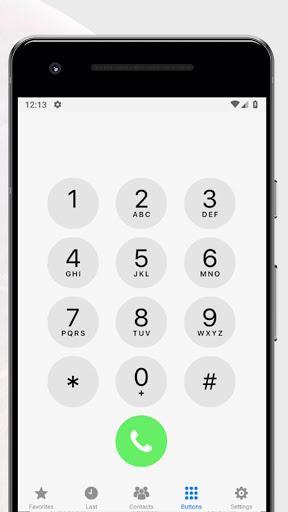 Dialer IOS12 style - عکس برنامه موبایلی اندروید
