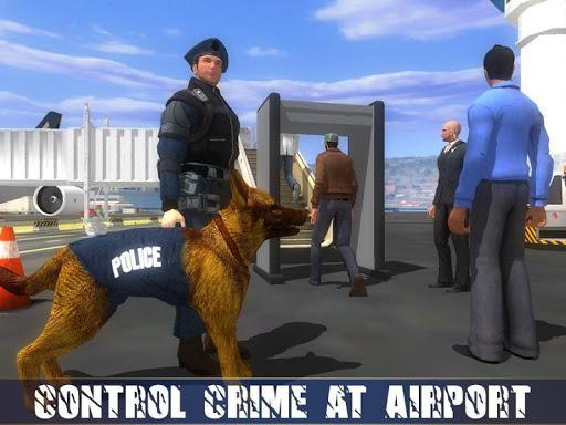 Police Dog Airport Crime Chase : Dog Games - عکس بازی موبایلی اندروید
