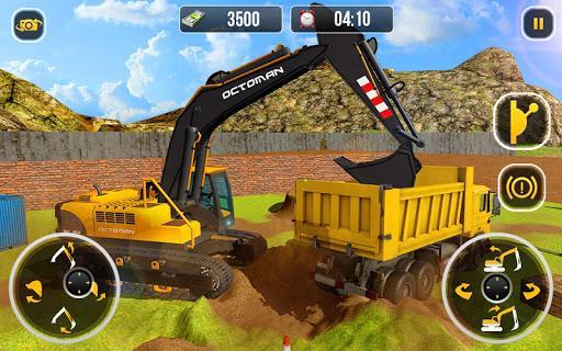 Heavy Excavator Crane - City Construction Sim 2017 - عکس بازی موبایلی اندروید