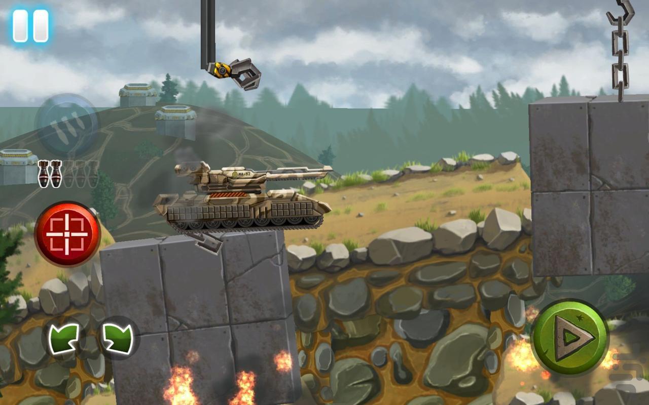 Tankomatrons - عکس بازی موبایلی اندروید
