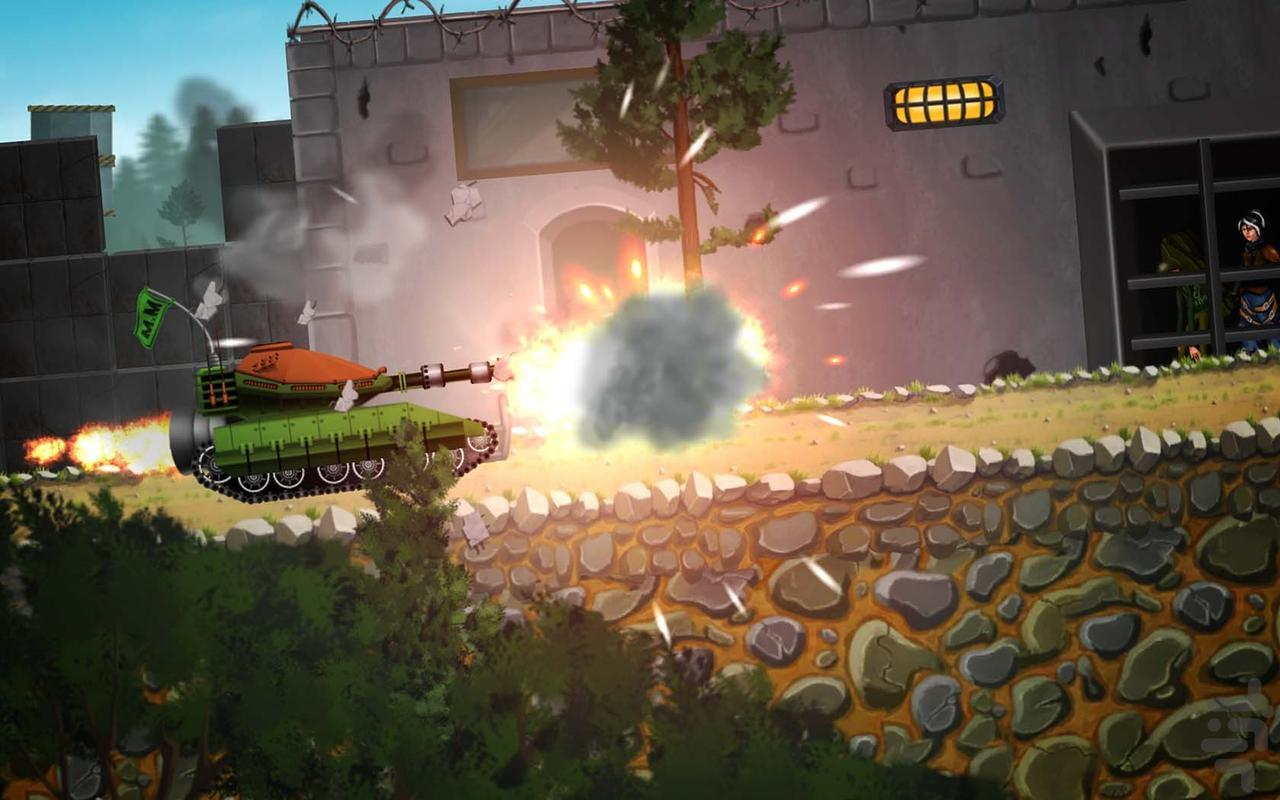 Mini Tanks Racing - عکس بازی موبایلی اندروید