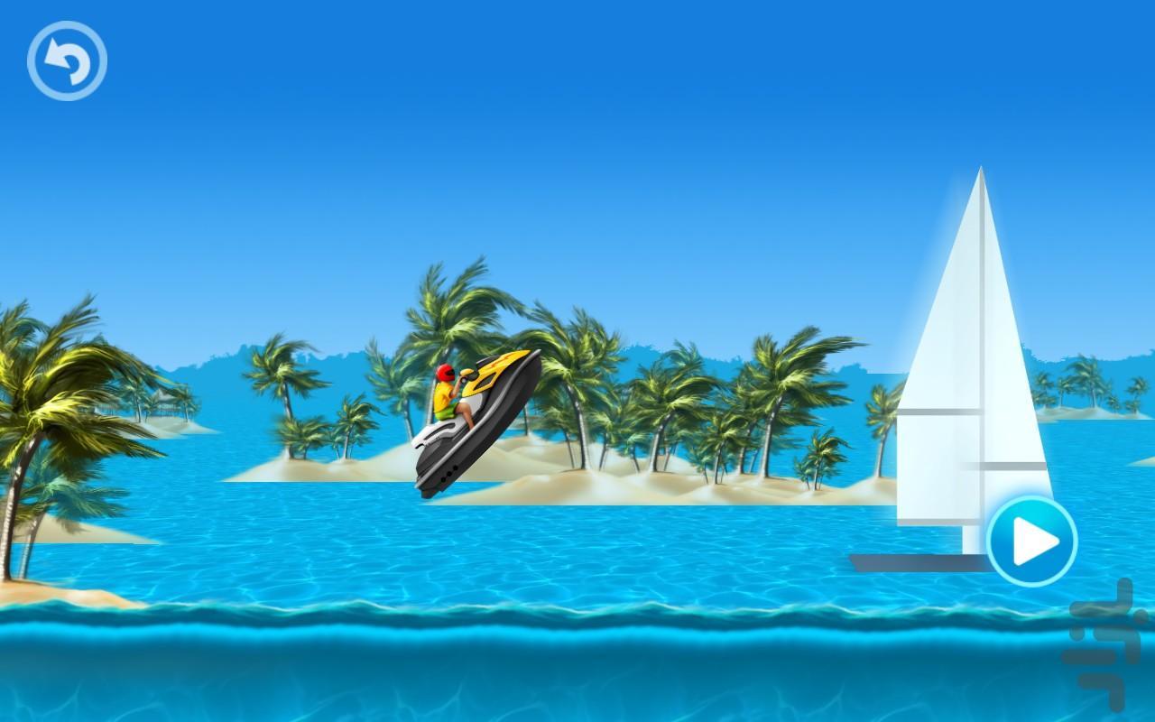 Boat Racing - عکس بازی موبایلی اندروید