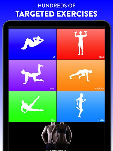 Daily Workouts Fitness Trainer - عکس برنامه موبایلی اندروید