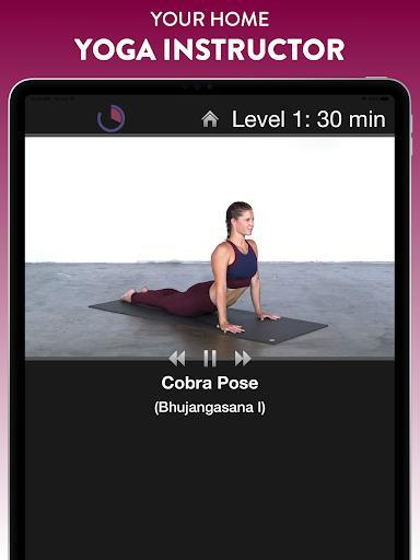 Simply Yoga - Home Instructor - عکس برنامه موبایلی اندروید