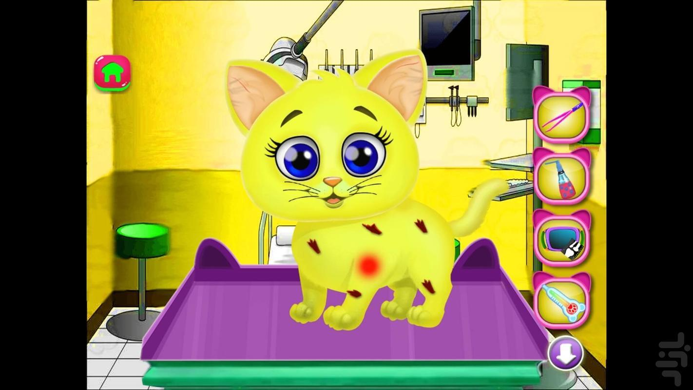 گربه شیطون مهربون - عکس بازی موبایلی اندروید