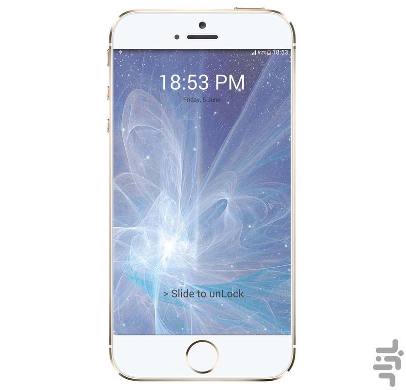 iphone lock screen - Image screenshot of android app