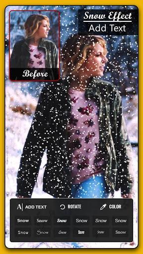 Snow photo editor - عکس برنامه موبایلی اندروید