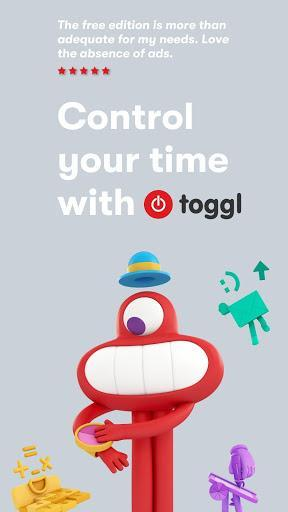 Toggl: Time Tracker and Timesheet for Work Hours - عکس برنامه موبایلی اندروید