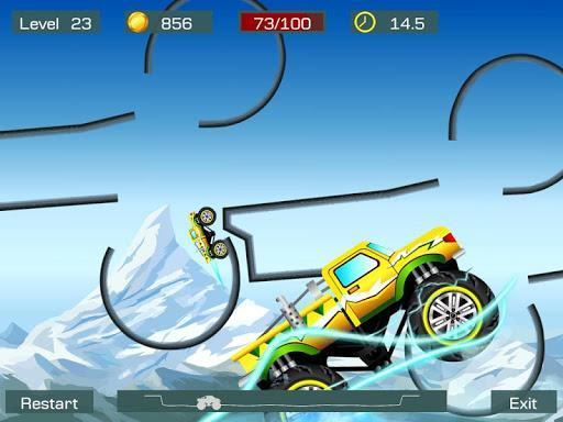 Monster Stunts -- monster truck stunt racing game - عکس برنامه موبایلی اندروید