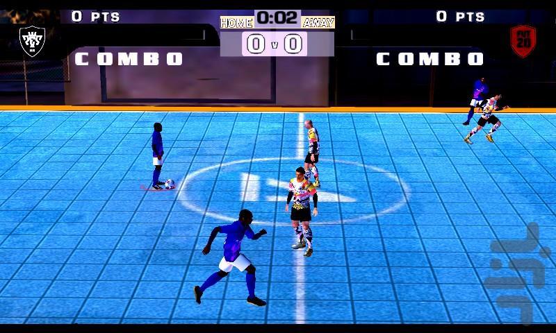 فوتبال خیابانی ۲(آپدیت ۲۰۲۱+ اروپا) - عکس بازی موبایلی اندروید