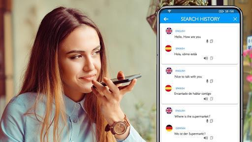 Translate All Language-Voice & Text translator app - عکس برنامه موبایلی اندروید