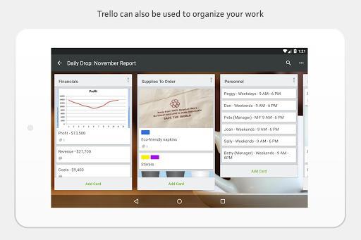 Trello — Organize anything with anyone, anywhere! - عکس برنامه موبایلی اندروید