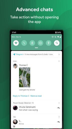 Power Shade: Notification Panel & Quick Settings - عکس برنامه موبایلی اندروید