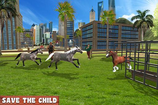 Horse Family Jungle Adventure Simulator Game 2020 - عکس بازی موبایلی اندروید