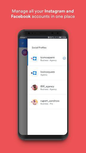 Iconosquare - عکس برنامه موبایلی اندروید