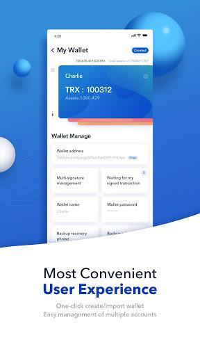 TronLink Pro  - کیف پول ترون لینک - عکس برنامه موبایلی اندروید