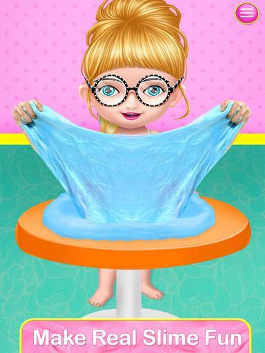 Fluffy Slime Maker game: Diy Slime Simulator - عکس بازی موبایلی اندروید