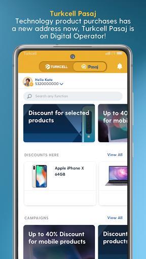 Turkcell Digital Operator - Transaction & Shopping - عکس برنامه موبایلی اندروید