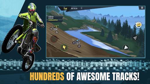 Mad Skills Motocross 3 – مسابقات موتورسواری موتورکراس ۳ - عکس بازی موبایلی اندروید