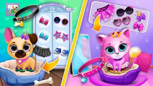 Kiki & Fifi Pet Friends - Virtual Cat & Dog Care - عکس بازی موبایلی اندروید