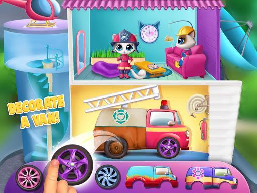 Kitty Meow Meow City Heroes - Cats to the Rescue! - عکس بازی موبایلی اندروید