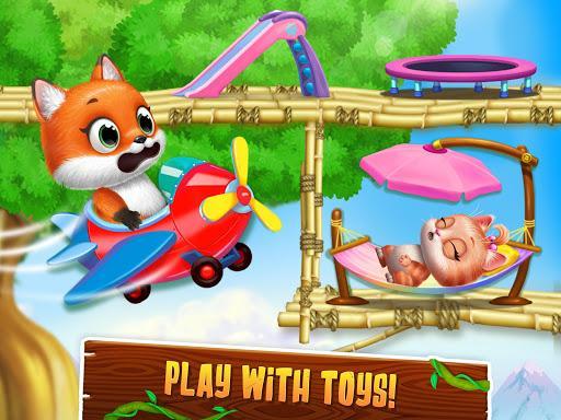 Panda Lu Treehouse - Build & Play with Tiny Pets - عکس بازی موبایلی اندروید