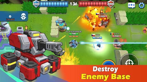 TankCraft 2: Build & Destroy - عکس بازی موبایلی اندروید