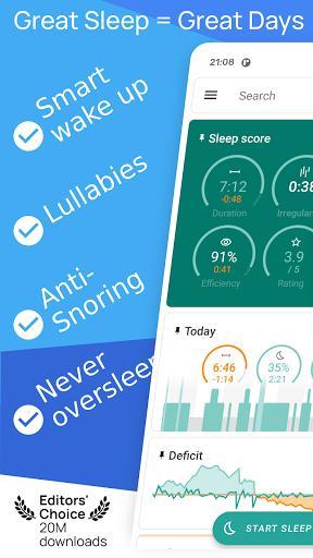 Sleep as Android: Sleep cycle alarm - عکس برنامه موبایلی اندروید