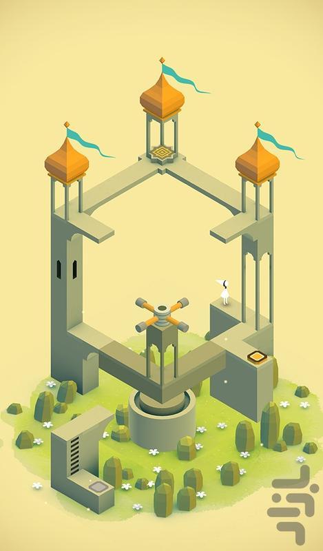 Monument Valley - عکس بازی موبایلی اندروید