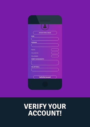 Verify Account Icon Simulator - عکس برنامه موبایلی اندروید