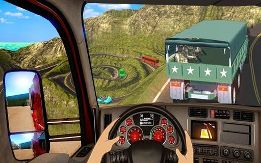 US Army Off-road Truck Driver 3D - عکس بازی موبایلی اندروید