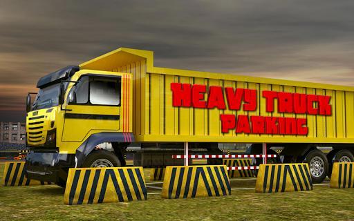 Heavy dump truck 3D parking - عکس بازی موبایلی اندروید
