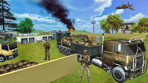US Army Off-road Truck Driver 3D 2 - عکس بازی موبایلی اندروید