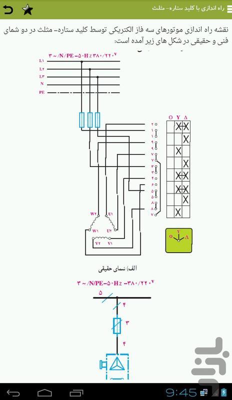 آموزش برق صنعتی - عکس برنامه موبایلی اندروید