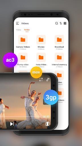 Video Player - HD Video Player , MP4 Video Player - عکس برنامه موبایلی اندروید