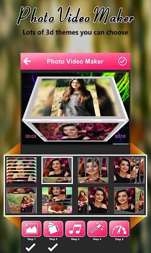 Photo Video Maker with Music 2021- Photo Slideshow - عکس برنامه موبایلی اندروید