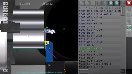 CNC Simulator Free - عکس برنامه موبایلی اندروید