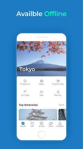 Visit A City - عکس برنامه موبایلی اندروید
