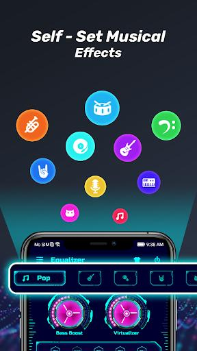 Volume Booster - Equalizer & Bass & Loudspeaker - عکس برنامه موبایلی اندروید