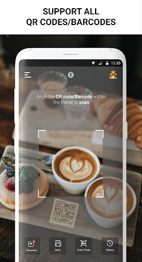 Free QR Scanner - Barcode Scanner, QR Generator - عکس برنامه موبایلی اندروید