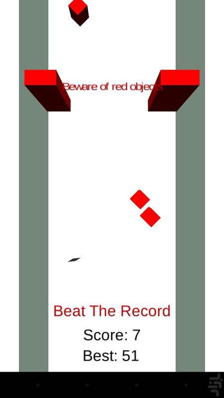 مکعب دونده - عکس بازی موبایلی اندروید