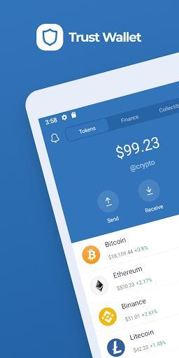 Trust: Crypto & Bitcoin Wallet – کیف پول تراست والت - عکس برنامه موبایلی اندروید