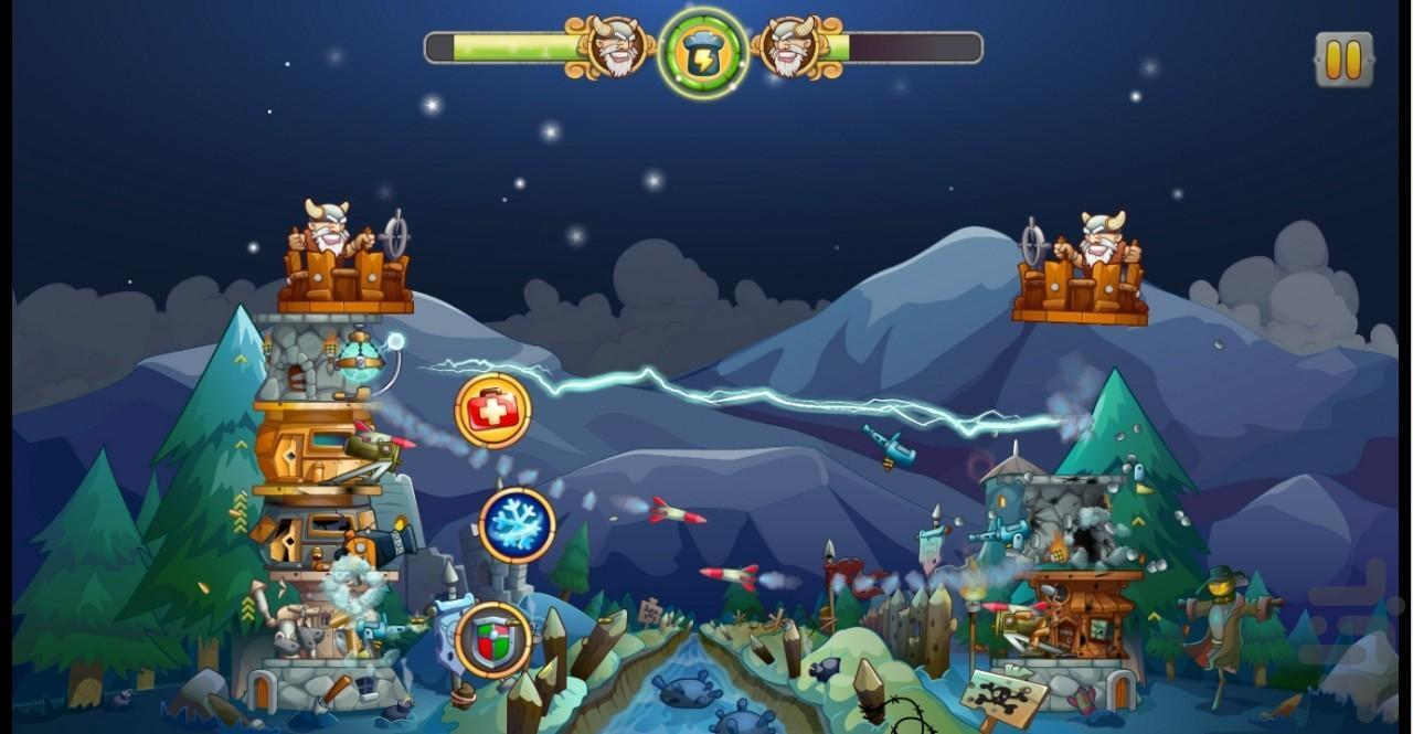 بازی قلعه جنگی - عکس بازی موبایلی اندروید