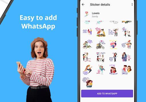 Stickify - استیکر واتساپ استیکیفای - عکس برنامه موبایلی اندروید