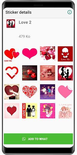 New Love Stickers 2020 ❤️ WAStickerApps Love - عکس برنامه موبایلی اندروید